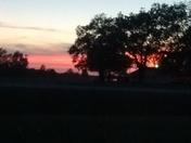 Sunset in Mayersville