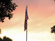 Sunset on Old Glory