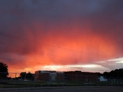 Rainy Sunset over Roosevelt