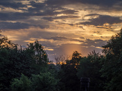 Sunrise over Sillwater Oklahoma