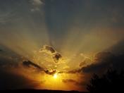 sunset & clouds, 5-26-2017