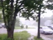 Heavy rain in belton