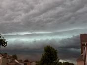 Scary sky!