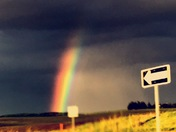 Rainbow in Iowa!