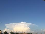 clouds over Okc