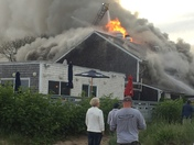 Pictures from town fire