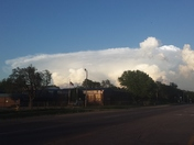 Storm Clouds NE of OKC