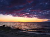 Sunset at Rimouski