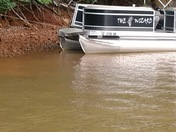 SC DNR Boat crashes into Pontoon boat on Lake Keowee
