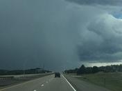 A hail of a storm