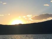 Sunset Storrie Lake