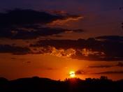 Memorial Day sunset, 5-29-2017