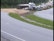 Truck Wreck on 421