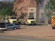 Tesuque Fire Station on FIRE