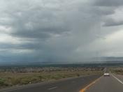 Rainy day in Albuquerque