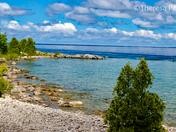Flowerpot Island view - Fathom Five National Marine Park