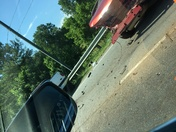Wreck between Clemson and Seneca