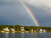 Rainbow over Onset Bay
