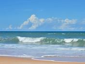 Blue on Blue at Flagler Beach