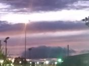 Byram sky last drops of day light