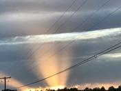 Sun Rays at Dawn