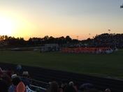 Sun setting on the Graduates of Glenn High Schools final school day!!