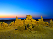Sand sculptures competition coming soon.