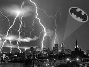 Salute to Adam West from Des Moines #1 - Composite Photo by Dave Austin