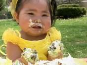 Zoë Rae Naranjo-Gonzales 1st Birthday