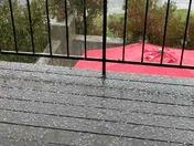 Hail in Davis