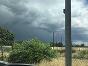 bad weather over Davis