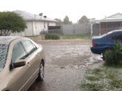 Marysville Hail in mid June