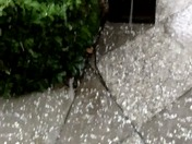 Thunder hail storm in Stockton!