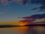 Abiquiu Lake Camp Site Sunset