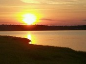 Sunset on the Great Bay