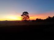 Sunset in Deering