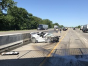 Accident on I80/35 at 9:30am this morning