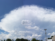 Storm developing over Marietta, SC @ 2:30 today