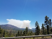 First look at Jemez fire tiday.