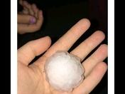 Lovilia Iowa hail storm