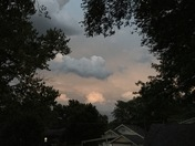 Thursday night sky