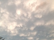 Mammatus Clouds Omaha 6-16-2017