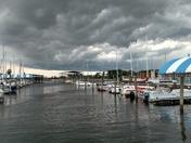 Beautiful Clouds at Marina Del Ray