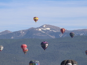 Balloons Over Angel Fire