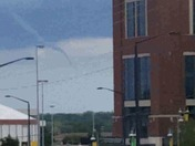 Funnel cloud at Lambeau