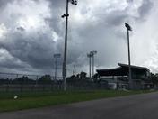 Clouds but no rain