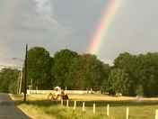 The end of the rainbow!!
