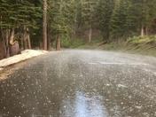 Bear Valley rain & hail