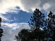 Thunder showers in Diamond Springs
