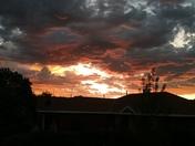 Las Maravillas Sunset, Los Lunas